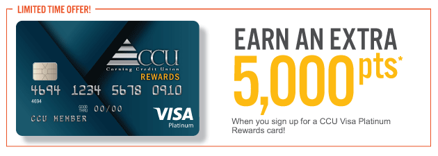 2019 CCU Visa Platinum Promo Earn 5000 points